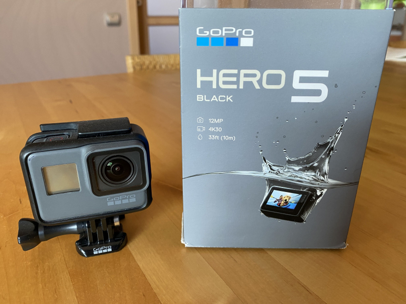 Gopro Hero 5 Black sportkamera 95 000 Ft