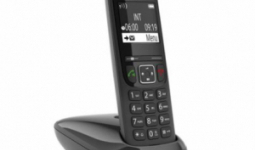 GIGASET ECO DECT Telefon AS690 fekete